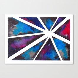 Fractal Galaxy Canvas Print