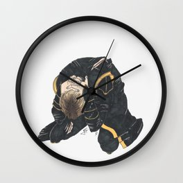#2: No, no, no! I have too much of a headache! Wall Clock