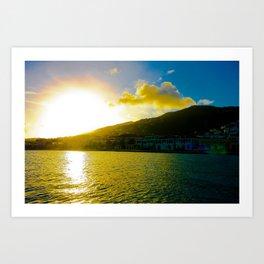 Island Sun Art Print