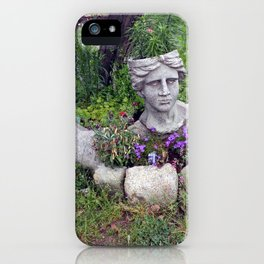 Off the Top of her Head iPhone Case
