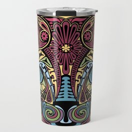 Cat Bedazzled #cat #Society6 #Geometric Travel Mug