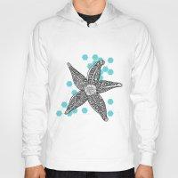 starfish Hoodies featuring starfish by Grapheides