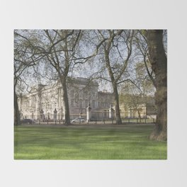 Buckingham Palace Throw Blanket