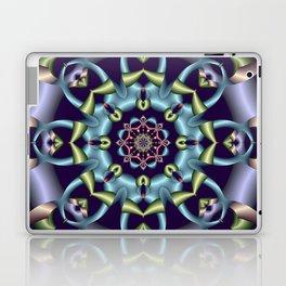 Silky pastel kaleidoscop Laptop & iPad Skin