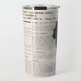 His Master's Voice - Cat Travel Mug