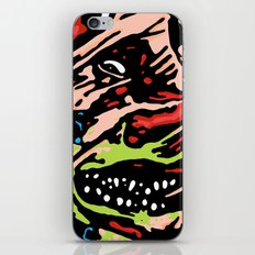 Man is The Warmest Place to Hide iPhone & iPod Skin