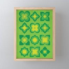Nature bloom Framed Mini Art Print