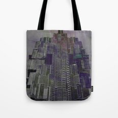 Urban Bubble into Space / 25-08-16 Tote Bag
