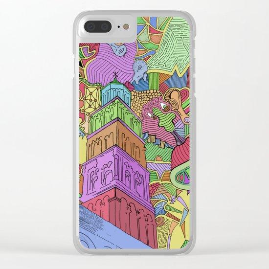 Saint Domnius Clear iPhone Case