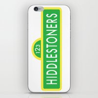 sesame street iPhone & iPod Skins featuring Hiddlestoners Sesame Street by RLJ Photographic