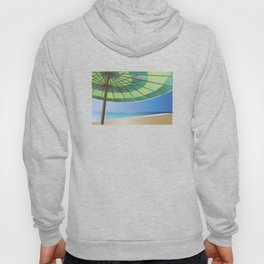 Beach Shade Green Hoody