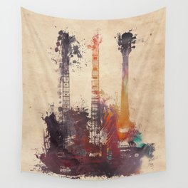 guitars 3 Wall Tapestry
