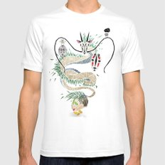 spirited away LARGE White Mens Fitted Tee