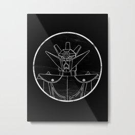 Shogun Metal Print