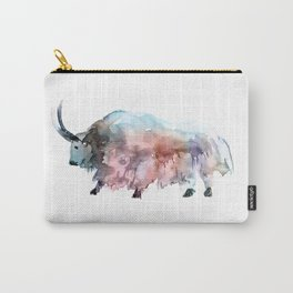 Wild yak 2 / Abstract animal portrait. Carry-All Pouch