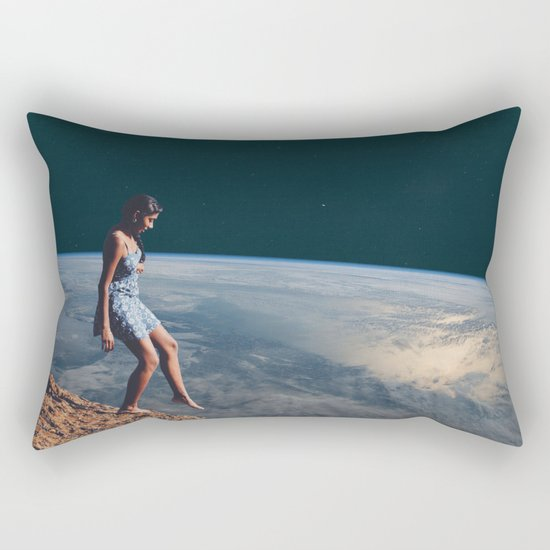 Going to Unknown World Rectangular Pillow