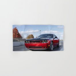 Scat Pack Challenger RT Two Tone Prototype Hand & Bath Towel