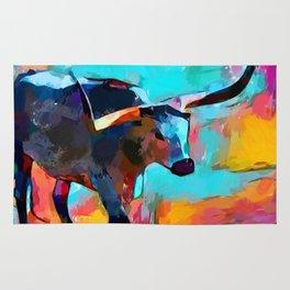 Texas Longhorn Rug