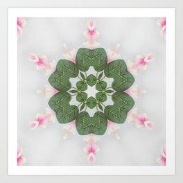 leaves at large Art Print
