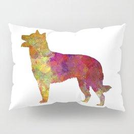 Australian Kelpie in watercolor Pillow Sham