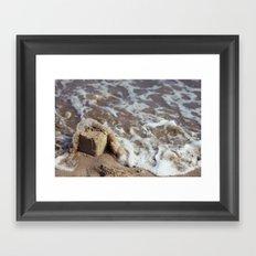 Sandcastle Framed Art Print