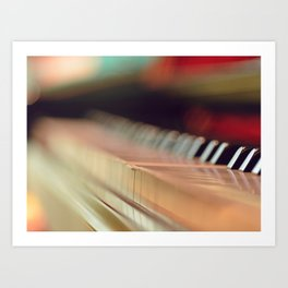 Ghostly Sounds Art Print