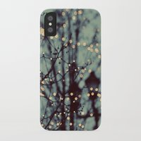 dragon ball z iPhone & iPod Cases featuring Winter Lights by elle moss