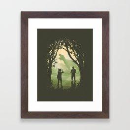 The Last of Us 2 Ellie's Bday Framed Art Print