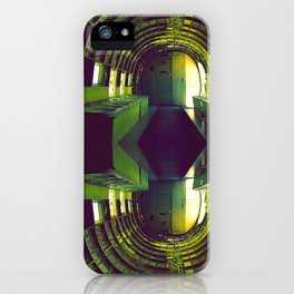 Out Of Space iPhone Case