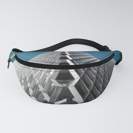 Abstract City Architecture Modern Color Print Fanny Pack