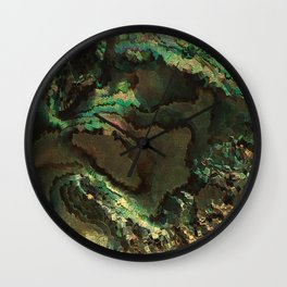 Primordial life by rafi talby Wall Clock