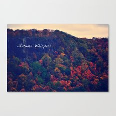 Autumn Whispers Canvas Print