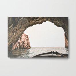 Algarve Beach Coast Metal Print