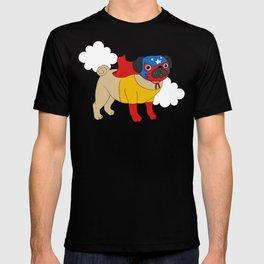 Lucha Libre Pug T-shirt