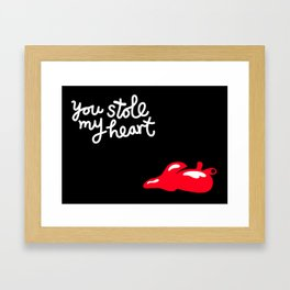 Love 5 Framed Art Print