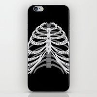 winchester iPhone & iPod Skins featuring Winchester Bones by Lisa Buchfink