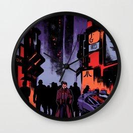 Blade Runner Los Angeles Wall Clock