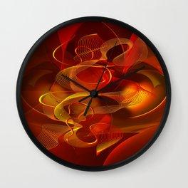 Feuertanz Wall Clock