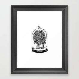 Bamboo Belljar Framed Art Print