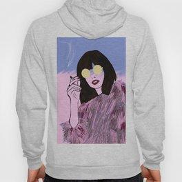 Fashionista - Pink Fur Hoody