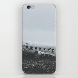 Sólheimasandur Plane Wreck, Iceland iPhone Skin