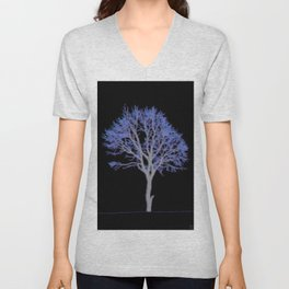 Electric Tree 01.5 Unisex V-Neck