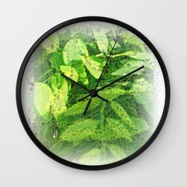 In a tree Wall Clock