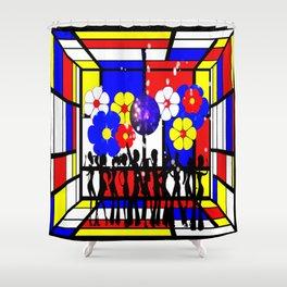 Disco Jive Shower Curtain