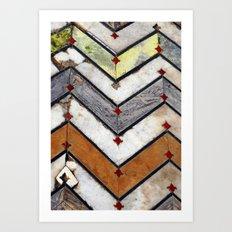 Marble Floor  Art Print