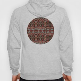 African Tribal Pattern No. 121 Hoody