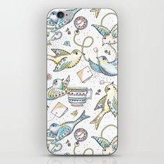 Twittering Tea Party iPhone & iPod Skin