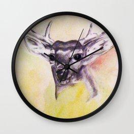 As The Deer Wall Clock