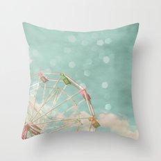 Candy Wheel Throw Pillow