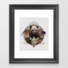 ANIMAL ECHOES Framed Art Print